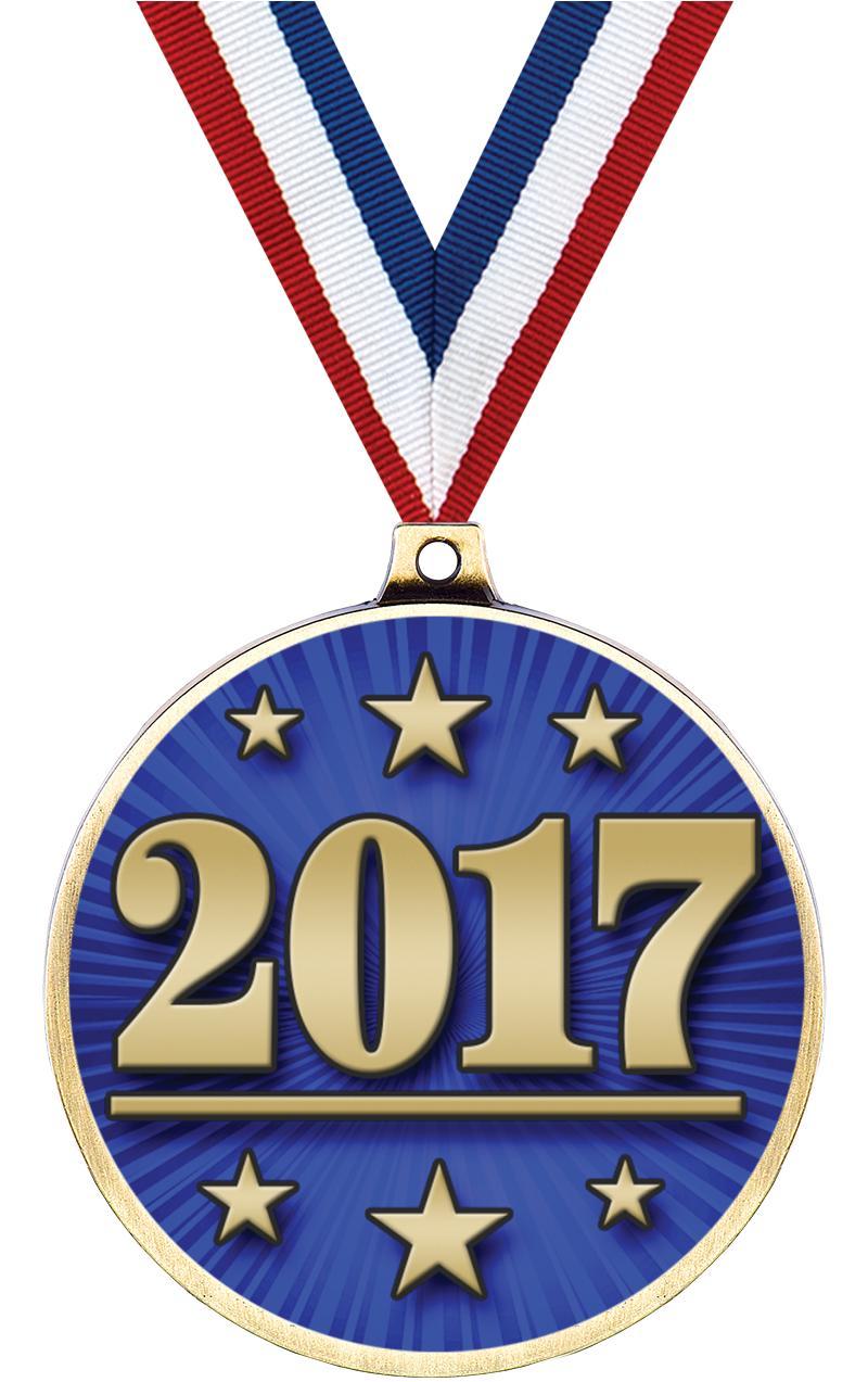 "2 1/4"" Classic Insert Medal"