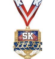 """2 1/2"""" Winged Foot Emblem Medals"""