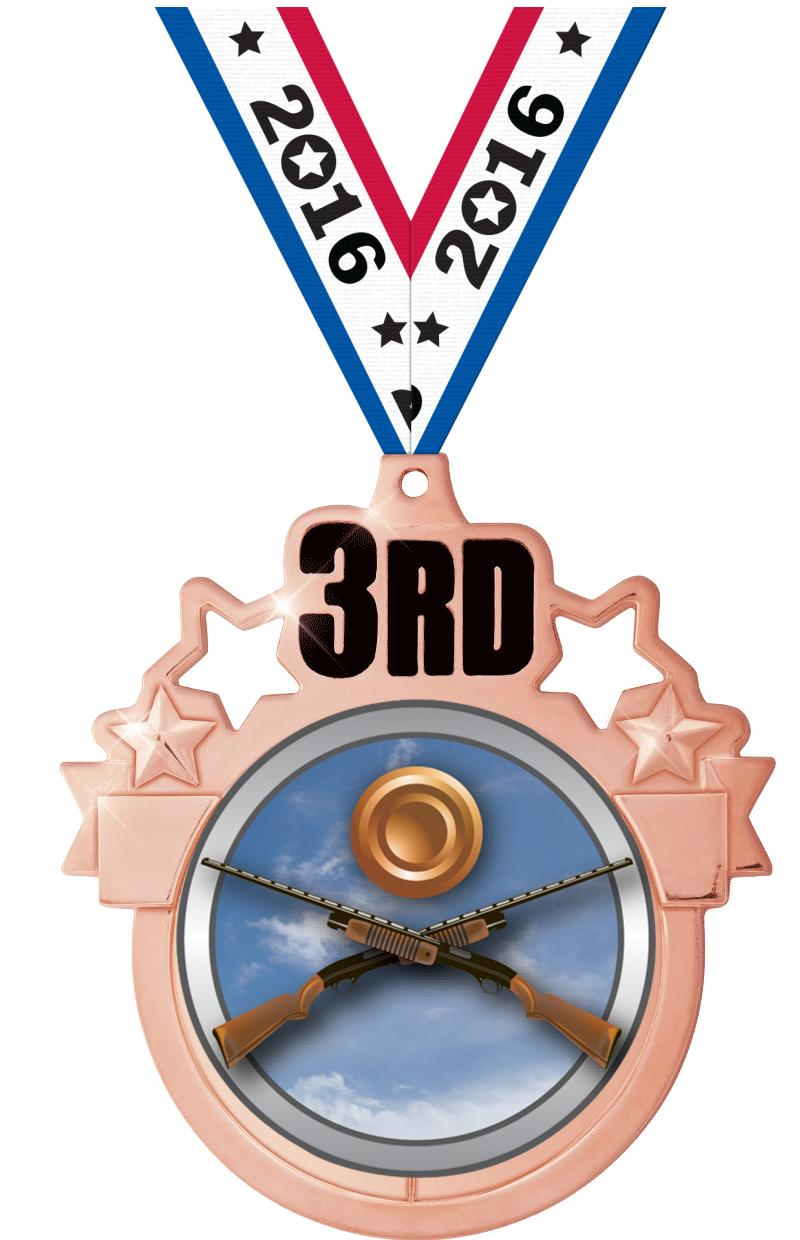 "3""COLORBURST 3RD PLACE MDL BZ"