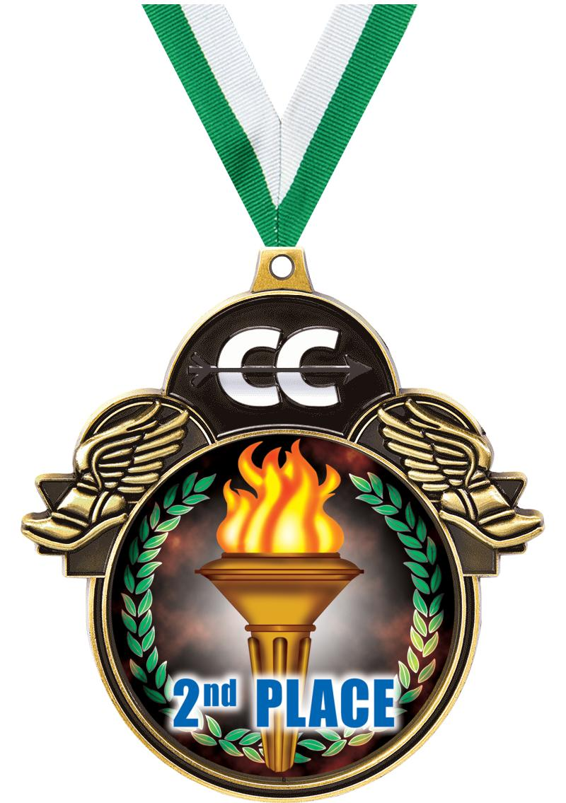 """3""""COLORBURST CROSS COUNTRY GLD"""