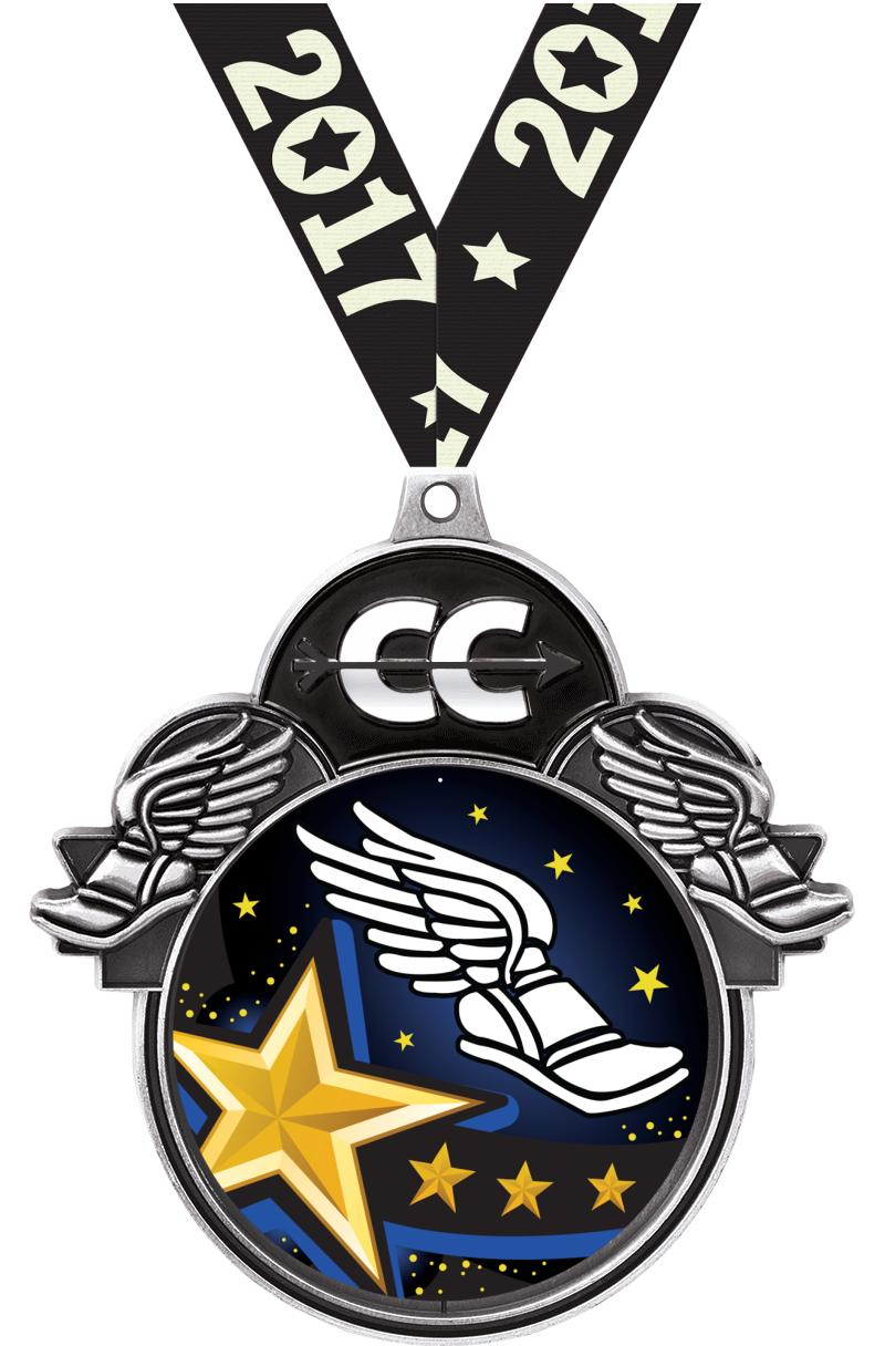 """3""""COLORBURST CROSS COUNTRY SLV"""