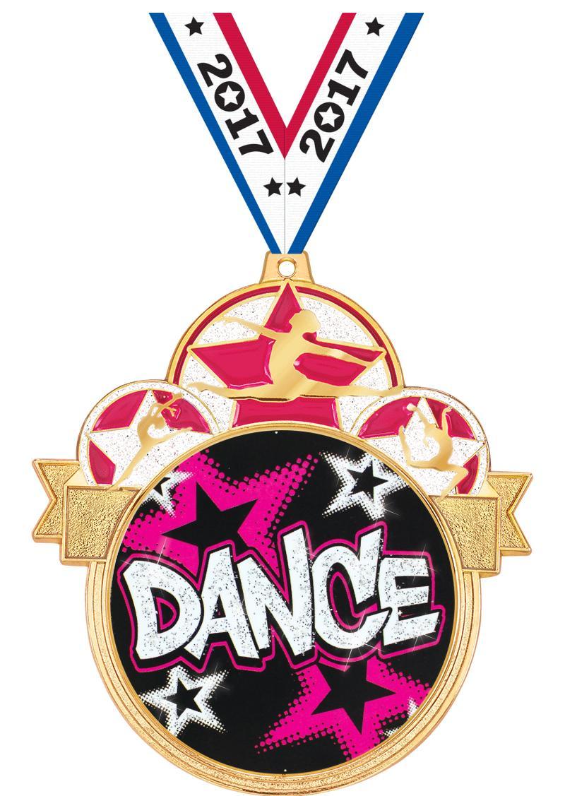"""3"""" COLORBURST DANCE MDL GOLD"""