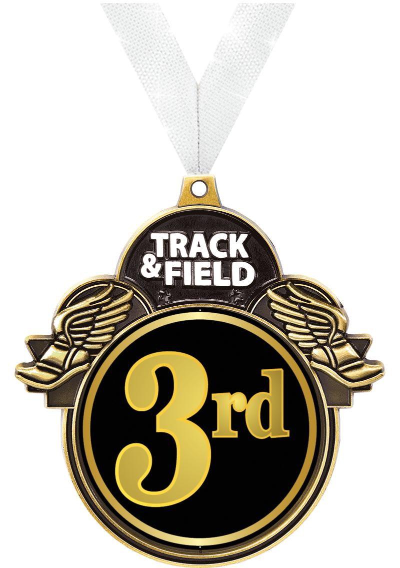 "3""COLORBURST TRACK/FIELD GLD"