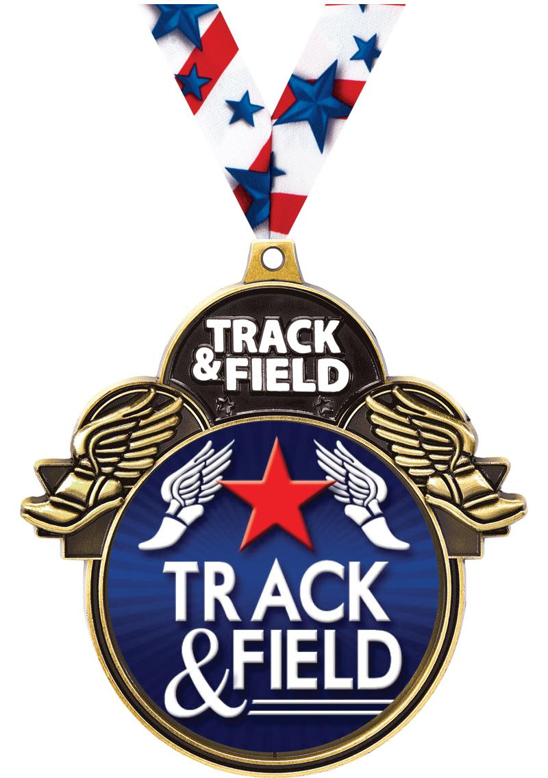 "3""COLORBURST TRACK/FIELD GLD"