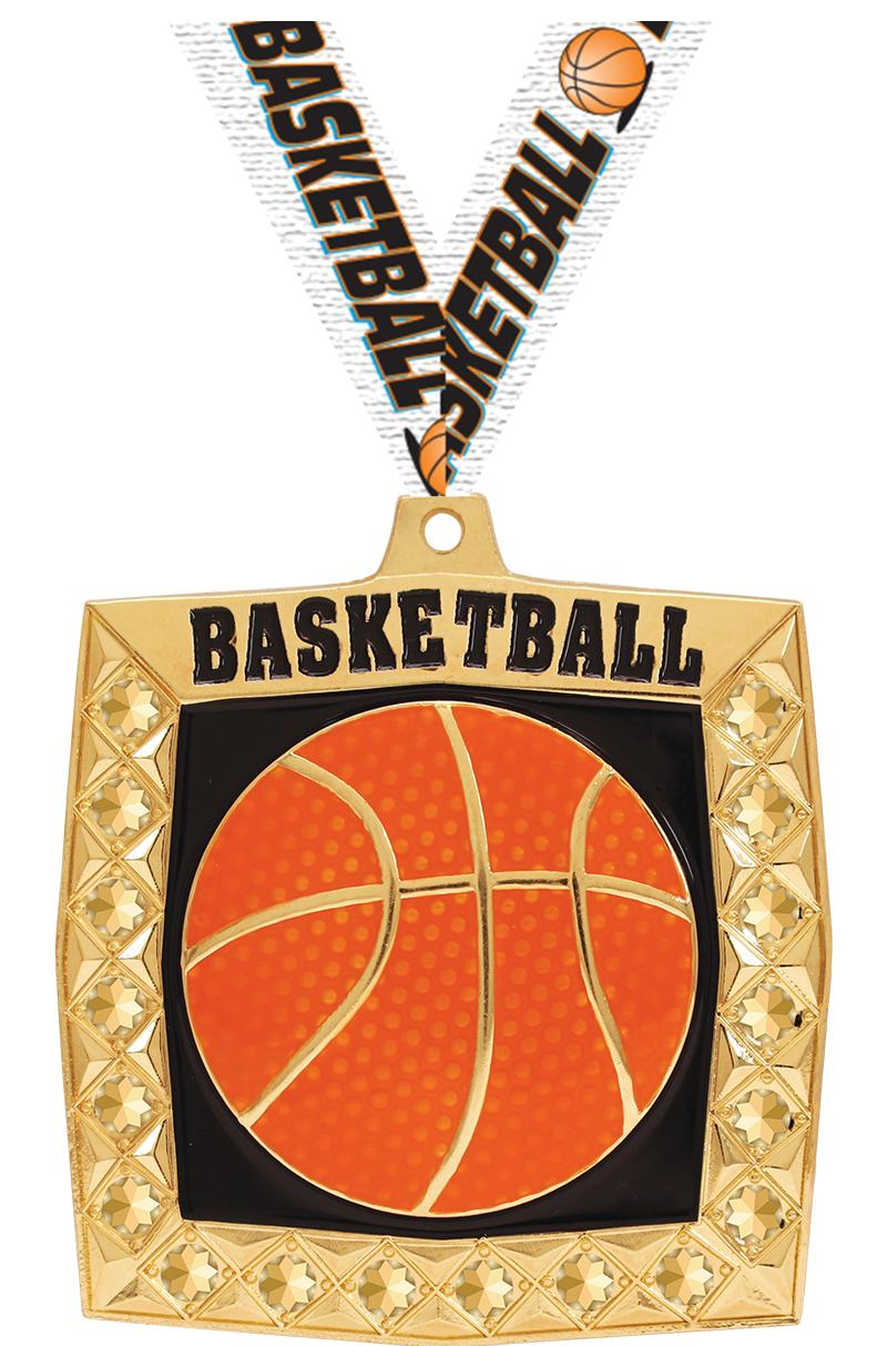 "2.25"" BLING 4.0 BASKETBALL GLD"