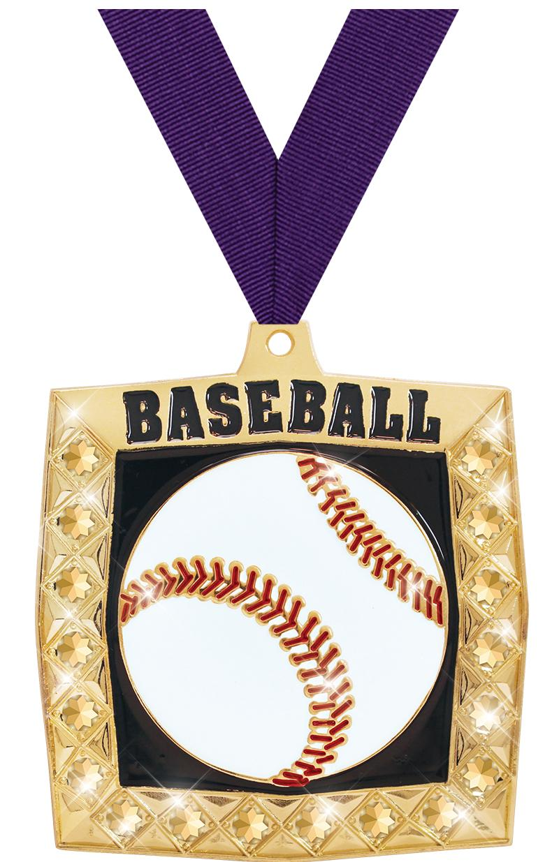 "2.25"" BLING 4.0 BASEBALL GLD"