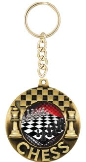 """2 1/4"""" Chess Majestic Medals"""