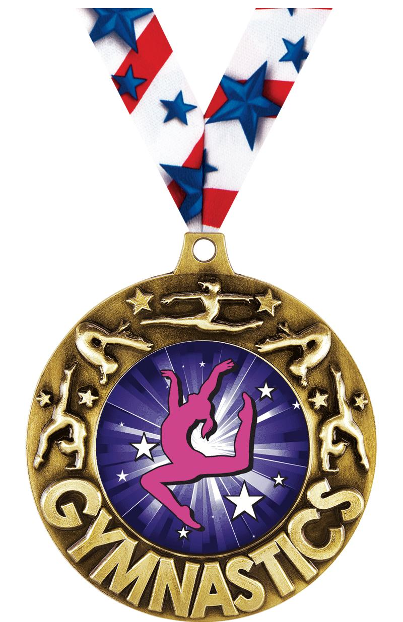 """2 1/4"""" Gym Majestic Medals"""