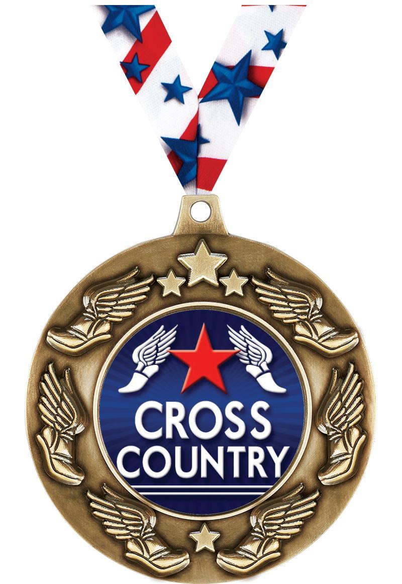 """2 1/4"""" Marathon Majestic Medals"""