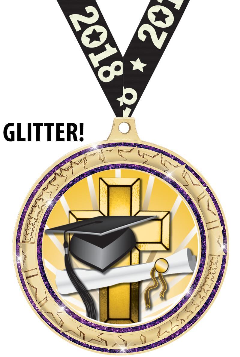 Graduation Medals Dogtags Crown Awards