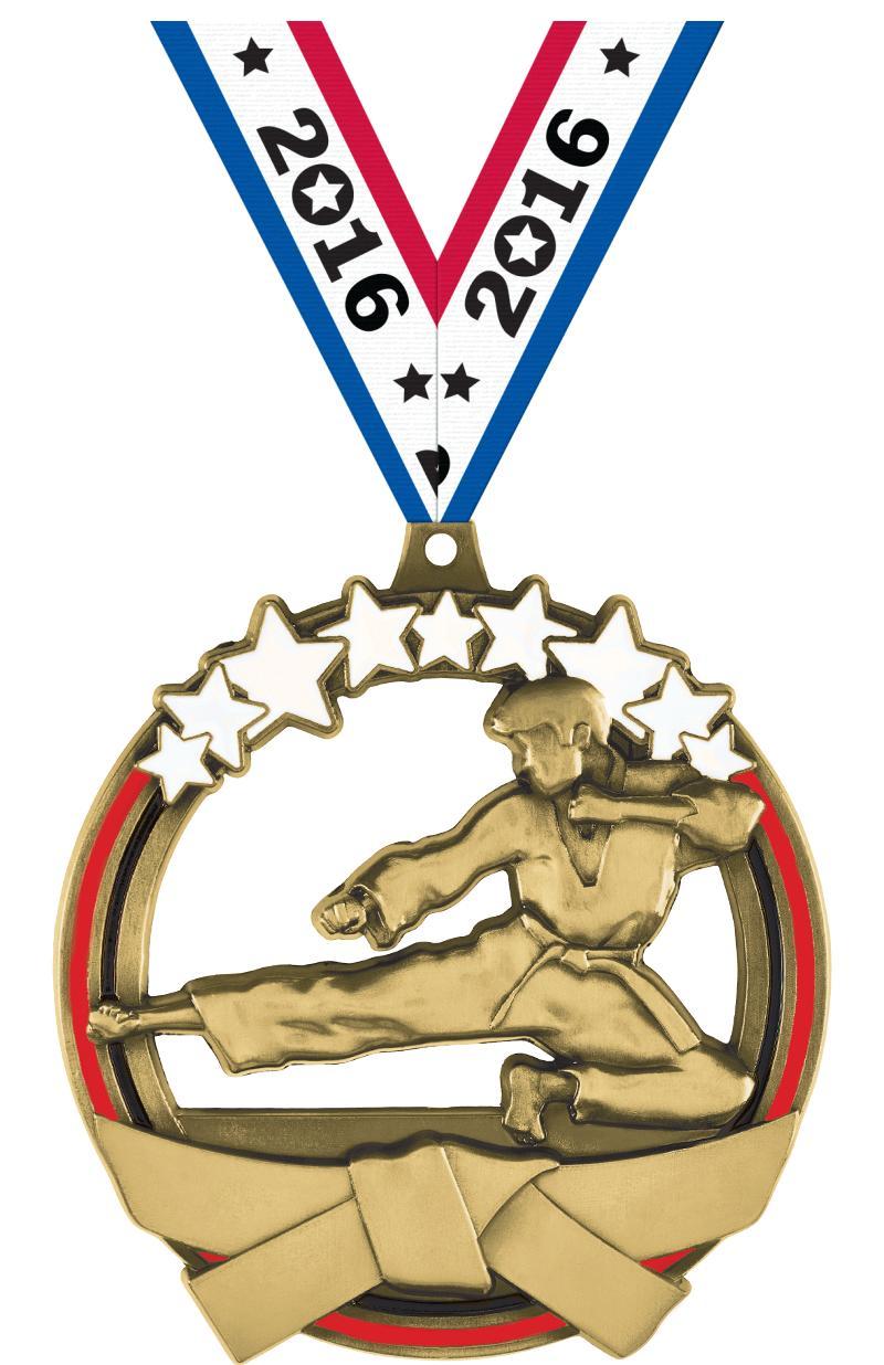 Martial Arts Titan Medals