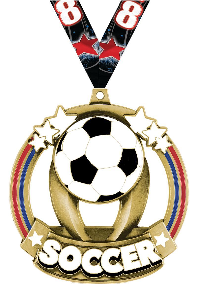 Soccer Titan Medals