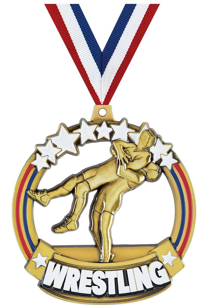 Wrestling Titan Medals