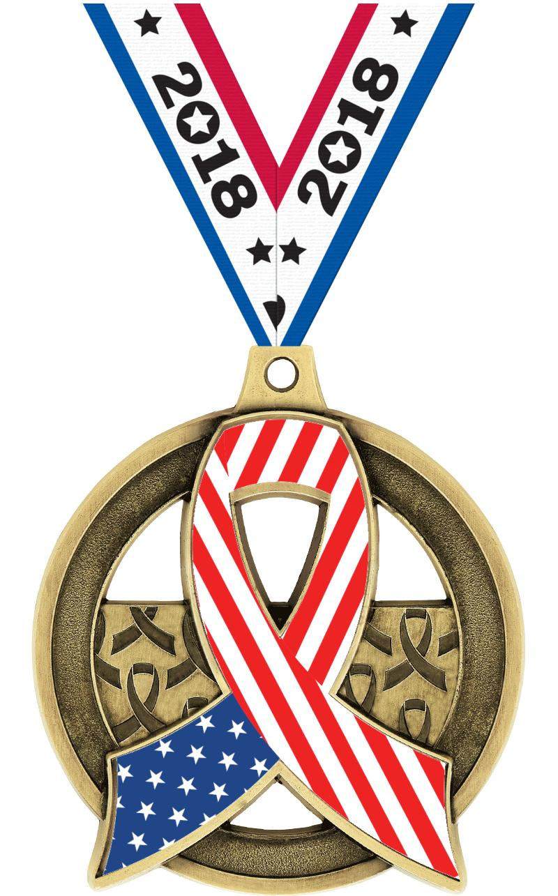 "2"" Awareness Insert Medal"