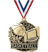 "2"" i9 Sports 3D Basketball Medals"