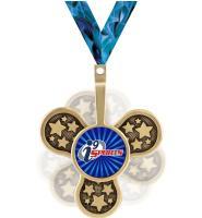 "2 1/2"" i9 Sports Spinz Insert Medal"