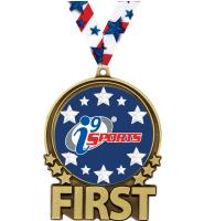"3"" i9 Sports Double Action First Gold Medal"