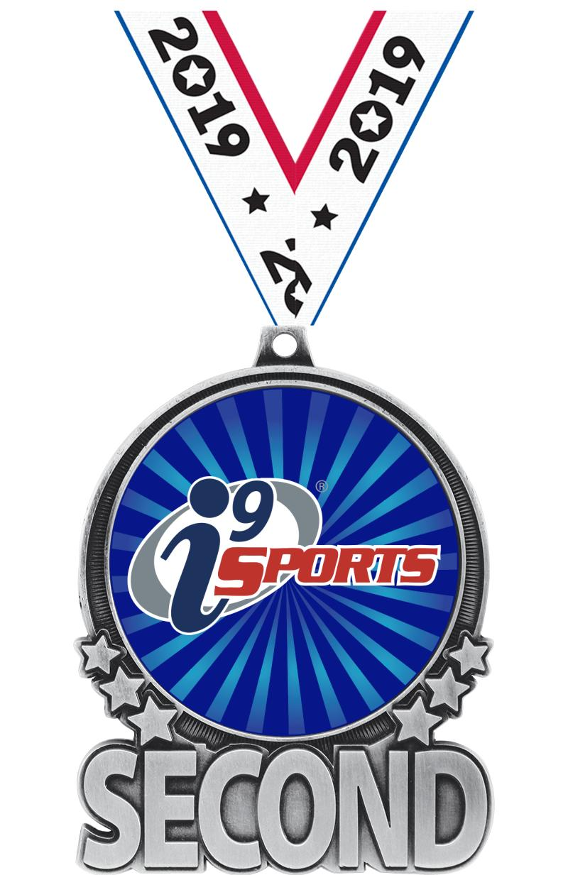 "3"" i9 Sports Double Action Second Silver Medal"