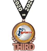"3"" i9 Sports Double Action Third Bronze Medal"