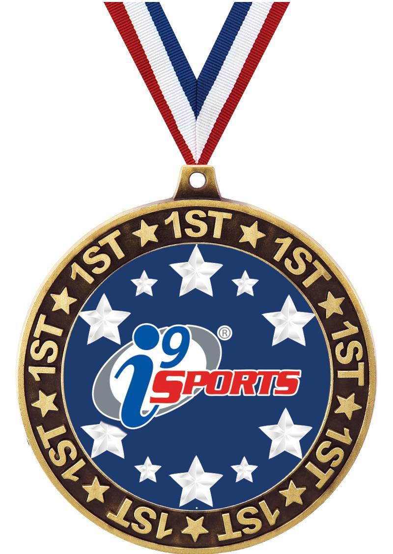 """2 3/4"""" i9 1st Place Perimeter Medal"""