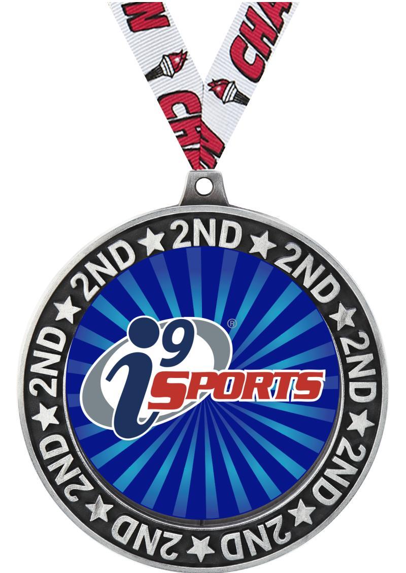 "2 3/4"" i9 2nd Place Perimeter Medal"