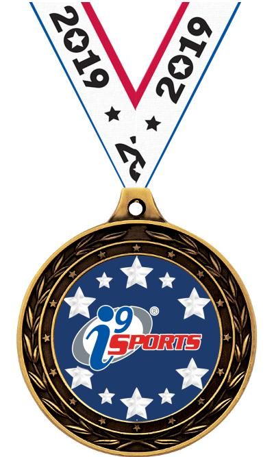 "3"" i9 Sports Duo Insert Medals"