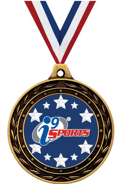 """3"""" i9 Sports Duo Insert Medals"""