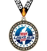 "2 1/2"" USSSA Universe Star Medal"