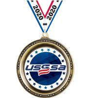 "2 1/2"" USSSA Legend Medals"