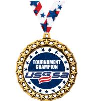 "2 1/2"" USSSA Galaxy Star Medals"