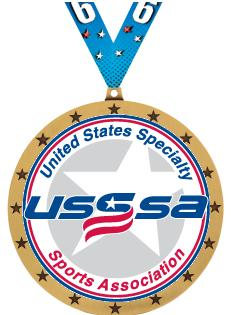 """4"""" USSSA Colossal Medals"""