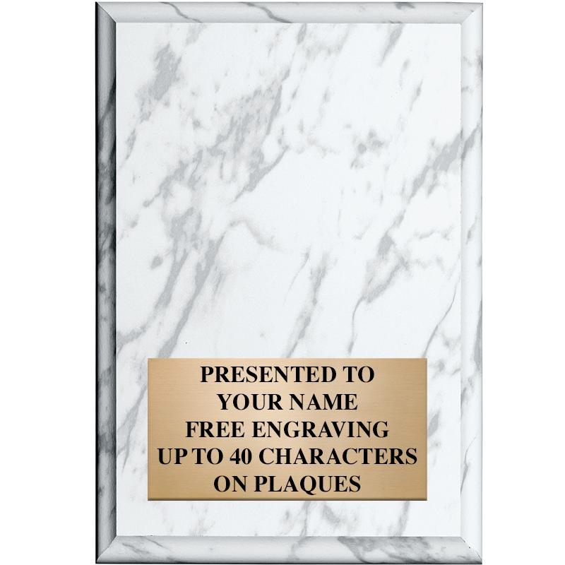 Color Marbleized Plaques