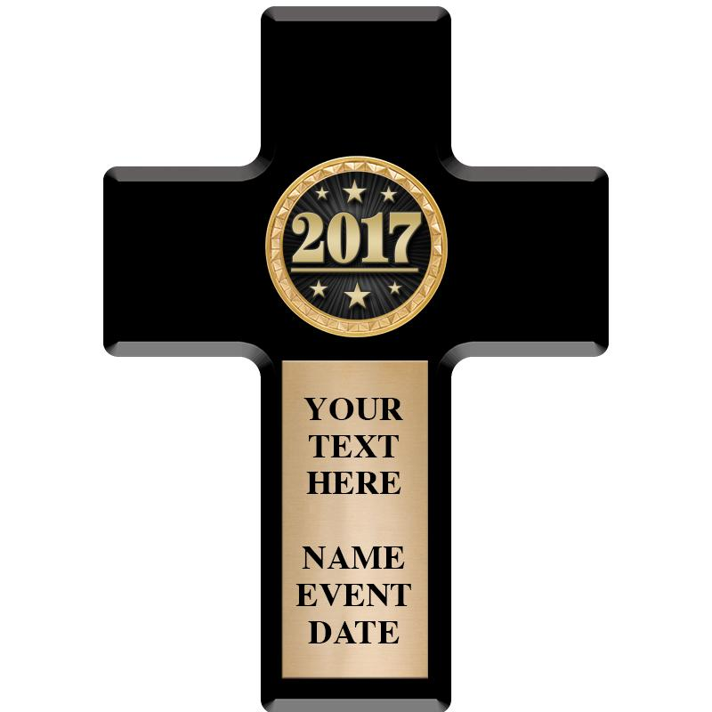 Cross Insert Plaque