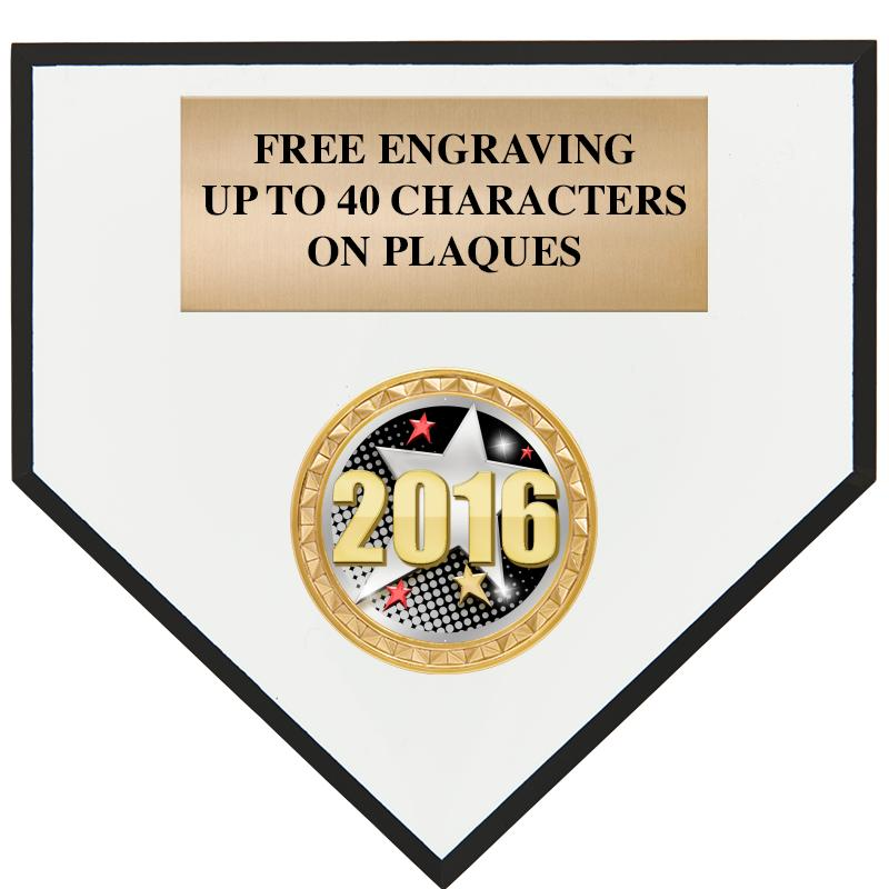 Home Plate Plaques