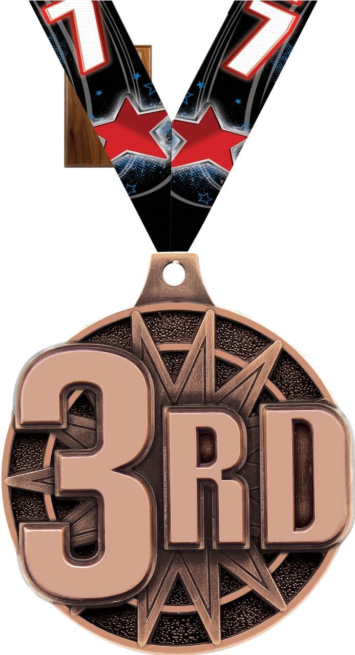 Wooden Ribbon Award Plaques