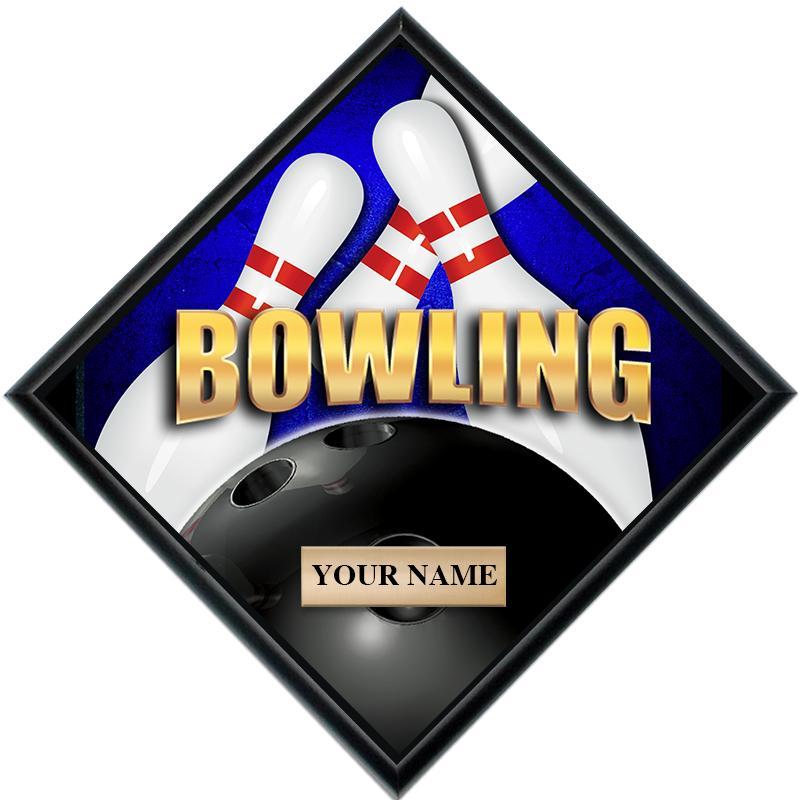 Bowling Diamond Show Stopper Plaque
