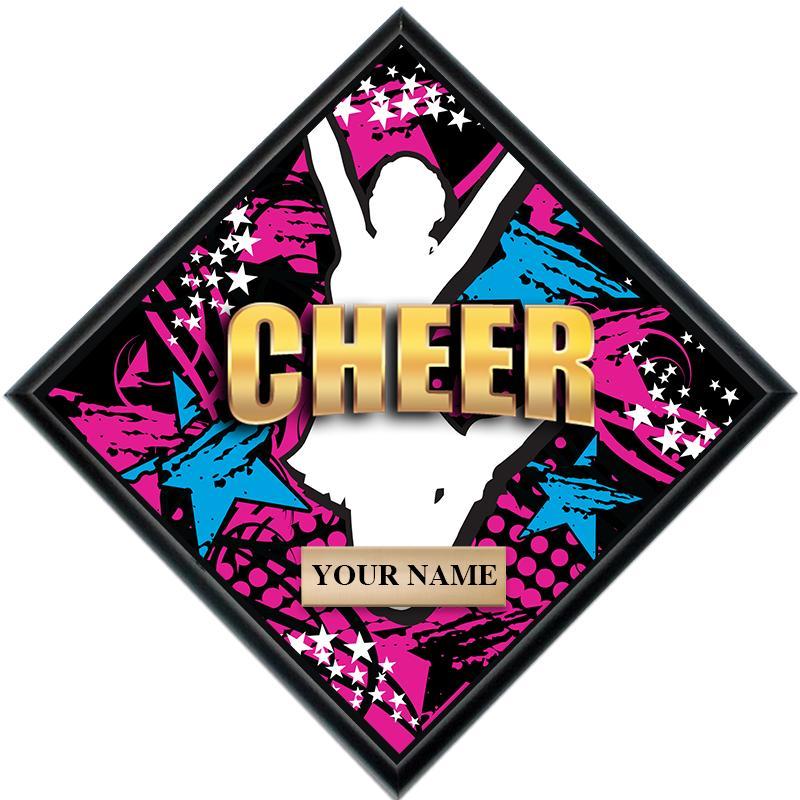 Cheer Diamond Show Stopper Plaque