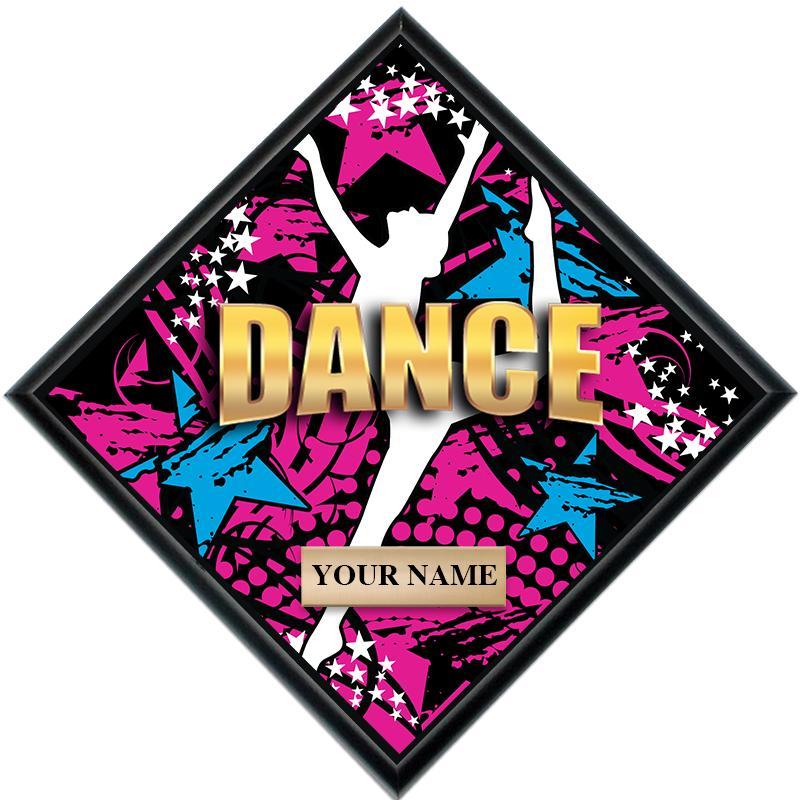 Dance Diamond Show Stopper Plaque