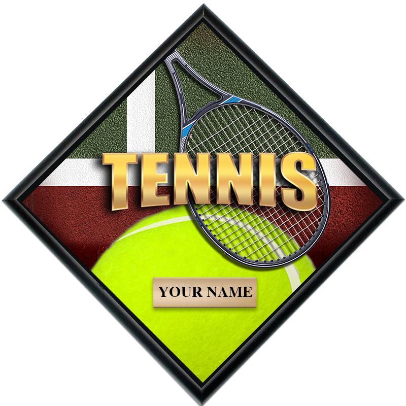 Tennis Diamond Show Stopper Plaque