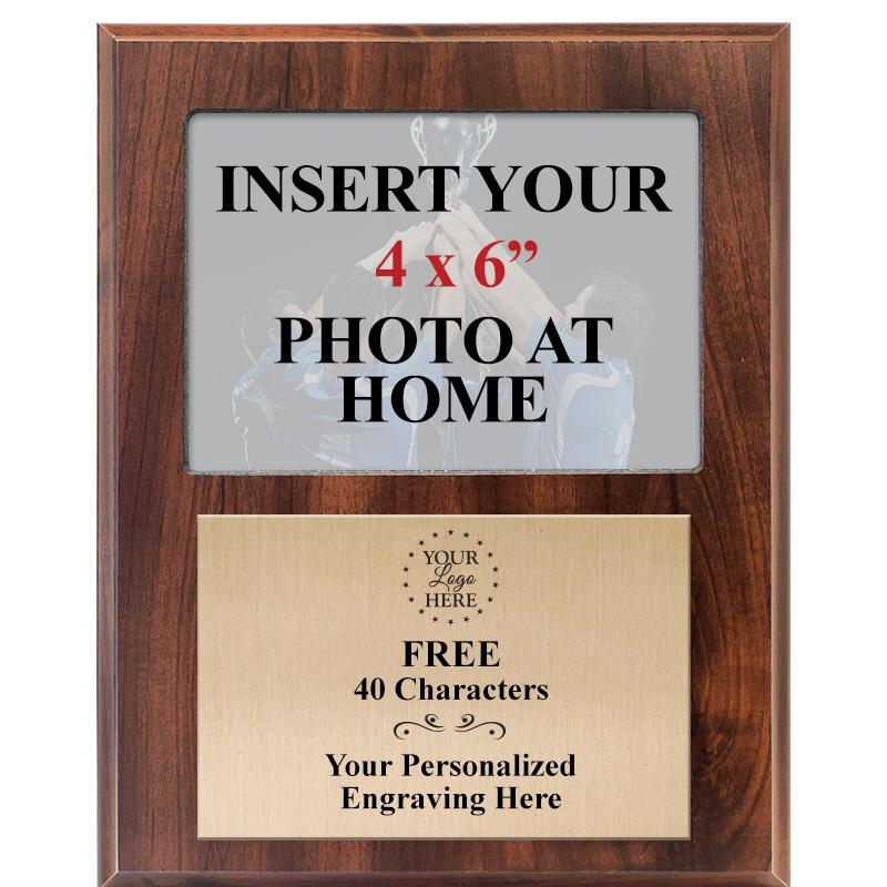 "8""X10"" PHOTO PLAQUE WOOD"