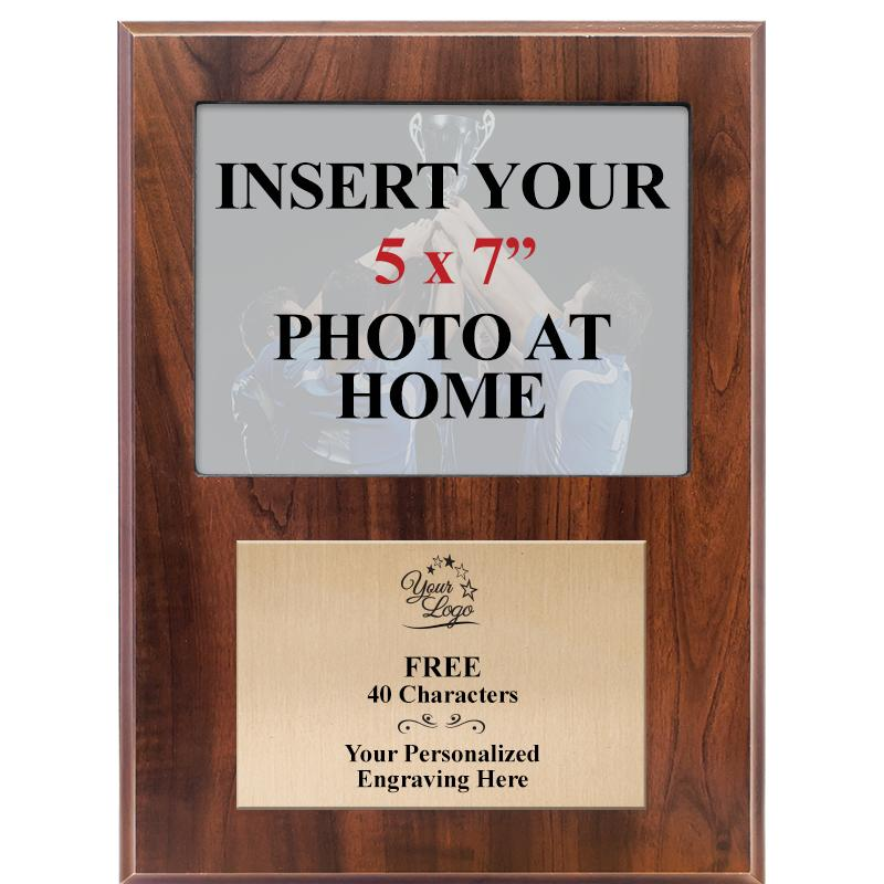 Classic Wood Photo Plaques