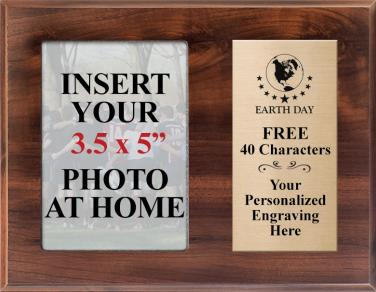 Walnut Photo Earth Day Plaques