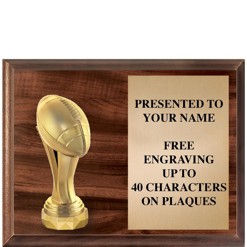 "9""X7"" Figurine Horizontal Plaque"