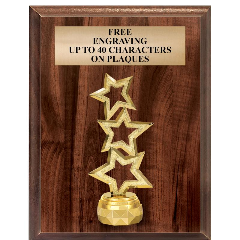 "7""X9"" Figurine Vertical Plaque"