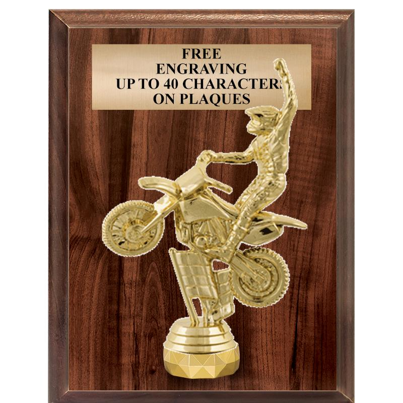 "7""X9""FIGURINE VERTICAL PLAQUE"