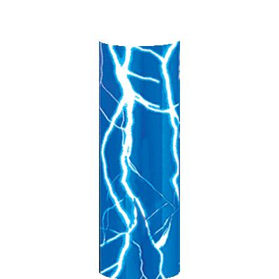 BLUE LIGHTNING COLUMN