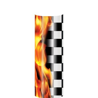 BLAZE RACING FLAG COLUMN