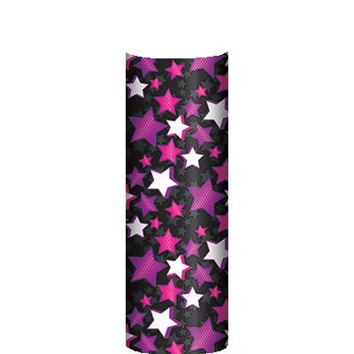 PINK/PURPLE STARDUST COLUMN