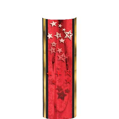 RED-GOLD STARS COLUMN