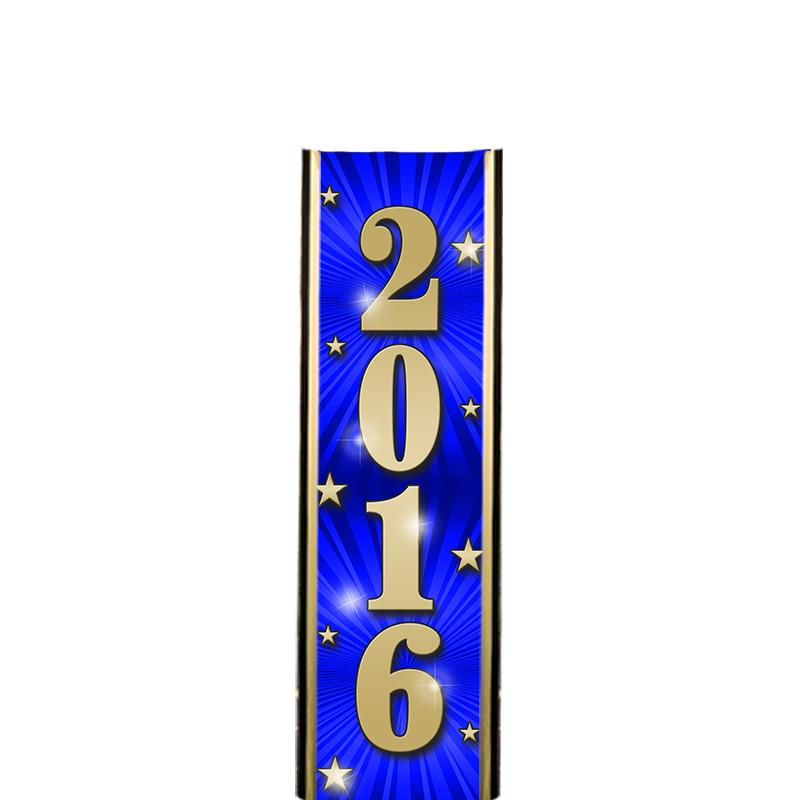 "6"" 2016 BLUE ULTRA MYLAR"